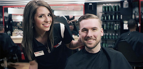 Sport Clips Haircuts of Bristol - The Falls stylist hair cut